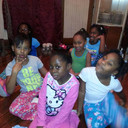 Little Leading Ladies PJ Party 2014